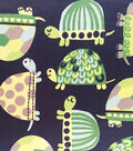 Soft N Comfy Fleece Fabric 57\u0022-Preppy Turtle