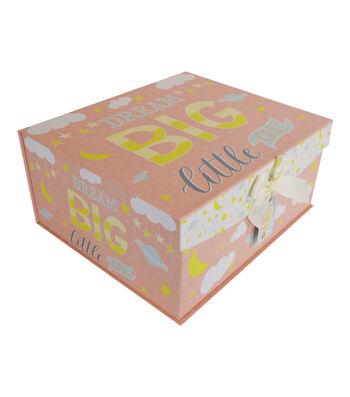 Organizing Essentials Large Fliptop Storage Box-Twinkle Twinkle
