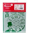 Stamperia Stencil D 7.87\u0027\u0027x5.91\u0027\u0027-Steampunk Man