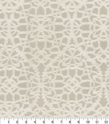 Kelly Ripa Home Upholstery Swatch 13''x13''-Shell Behind The Scene