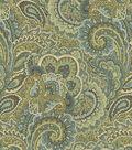 Waverly Multi-Purpose Decor Fabric 57\u0022-Treasure Gems Sea Grass