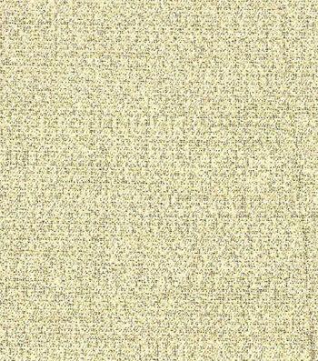 Metallics Crepe Fabric 59''-Gold & White