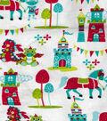 Snuggle Flannel Fabric -Magic Kingdom