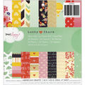 American Crafts Dear Lizzy Lucky Charm Paper Pad