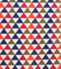 Blizzard Fleece Fabric 59\u0022-Triangle Geo