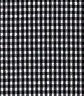Performance Fabric-Swim Seersucker Gingham Black/White