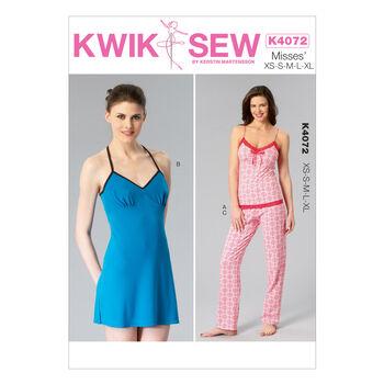 Kwik Sew Misses Sleep & Lounge-K4072