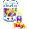 Guidecraft Interlox 96 pk Squares Interlocking Construction Toy