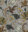 Vintage Cotton Fabric 43\u0022-Jacobean Gray