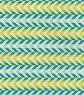 Waverly Upholstery Fabric-Full Of Zip/Peacock