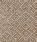 Home Decor 8\u0022x8\u0022 Swatch Fabric-IMAN Home Tambal Lattice Mink