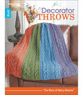 Decorator Throws-The Best Of Mary Maxim Book