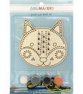 Little Makers Paint Stitch Kit-Cat