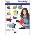Simplicity Pattern 1339OS One Size -Crafts Accessories