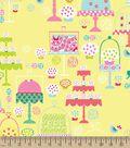 Pretty Cakes Print Fabric