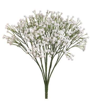 "Bloom Room 19"" Baby's Breath Bush-White"