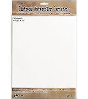 """Tim Holtz Distress Watercolor Cardstock 10/Pkg-8.5""""X11"""", , hi-res"""