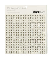 Kaisercraft Mini Stickers-Alphabet, , hi-res
