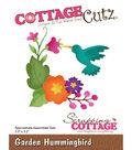 CottageCutz Die-Garden Hummingbird 3.3\u0022X3.2\u0022