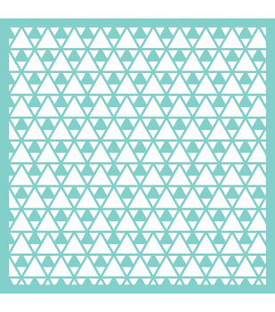 """Template 12""""X12""""-Triangles"""