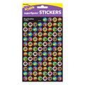 Bug Buddies superSpots Stickers 800 Per Pack, 6 Packs