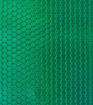 "Cosplay By Yaya Han Metallic Scuba Fabric 57""-Green Hex"