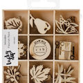 Themed Mini Wooden Flourishes-Harvest