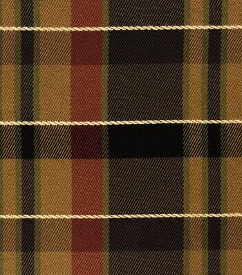 "Home Decor 8""x8"" Fabric Swatch-Jaclyn Smith Regency-Caramel"