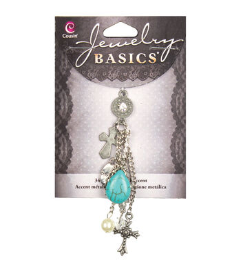 Jewelry Basics Cross Cluster Accent 1/Pkg-