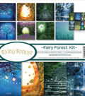 Reminisce Collection Kit 12\u0022X12\u0022-Fairy Forest w/Fireflies & Unicorn