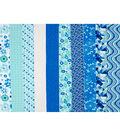 Jelly Roll Cotton Fabric Pack 2.5\u0027\u0027x42\u0027\u0027-Trend 1