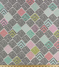 Home Essentials Lightweight Decor Fabric 45\u0027\u0027-Geolow Sweet