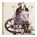 Prima Marketing Art Daily Planner 6\u0027\u0027x7.7\u0027\u0027 Refill Notebook-Monthly