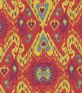 Home Decor 8\u0022x8\u0022 Fabric Swatch-Waverly Enlightened  Fiesta