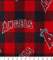 Los Angeles Angels Fleece Fabric-Buffalo Plaid, , hi-res