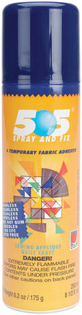 505 Spray & Fix Temporary Fabric Adhesive-5.6oz