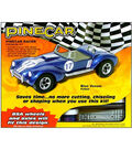 Pine Car Derby Racer Premium Kit-Blue Venom