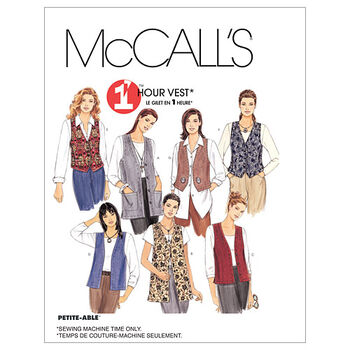 McCall's Misses Vest-M2260