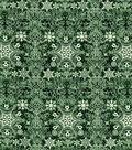 Christmas Cotton Fabric-Intricate Snowflakes