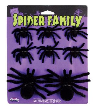 Maker's Halloween 8 pk Scattered Spider Family