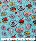 Anti-Pill Plush Fleece Fabric-Happy Desserts