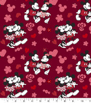 Disney Valentine's Day Mickey & Minnie Cotton Fabric-Love, , hi-res