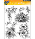 Penny Black Clear Stamps 5\u0022X7.5\u0022 Sheet-Flower Gallery