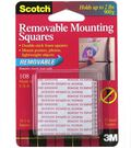 Scotch Removable Mounting Squares 1\u0022