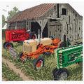 Auction Day Counted Cross Stitch Kit-11.25\u0022X10.5\u0022 14 Count