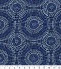 Kelly Ripa Home Upholstery Swatch 13\u0027\u0027x13\u0027\u0027-Bluejay Spiral Graph