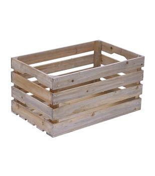 Fab Lab Medium Wood Crate