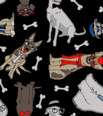 Blizzard Fleece Fabric 59''-Dog Gone Cool