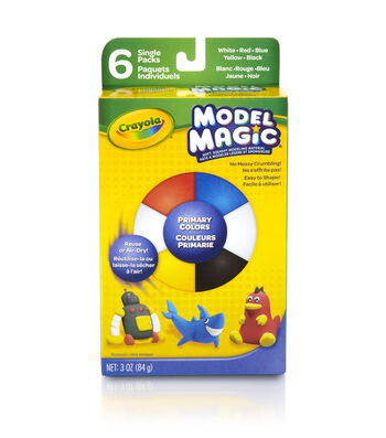 Crayola Model Magic .5oz Primary Colors