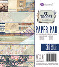 Prima Marketing St. Tropez 30-sheets 6\u0027\u0027x6\u0027\u0027 Double-sided Paper Pad